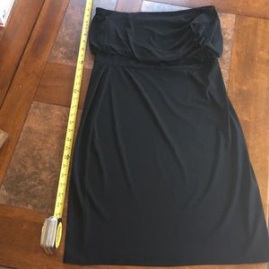 Strapless White House Black Market dress